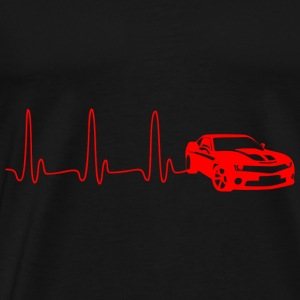 GIFT - ECG AUTO RED - Men's Premium T-Shirt