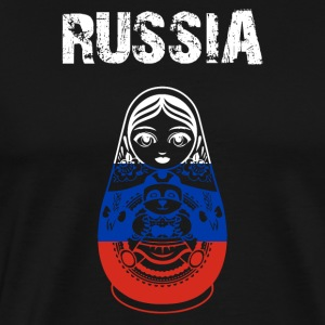 Nation-Design Russia Matryoshka - Men's Premium T-Shirt