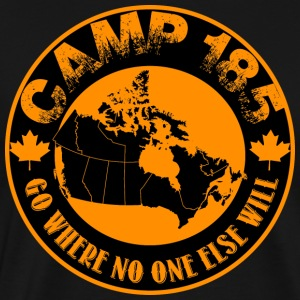 Camp 185 Map of Canada quot Go Where No One Else - Men's Premium T-Shirt