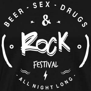 sex drugs and rock - Men's Premium T-Shirt