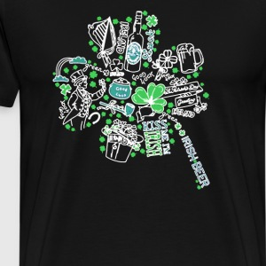 Shamrock St - Men's Premium T-Shirt