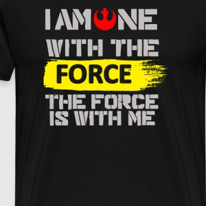 One With The Force Rogue One Chirrut - Men's Premium T-Shirt