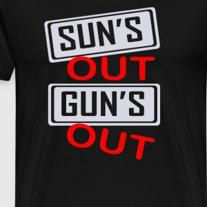 Guns Out - Men's Premium T-Shirt