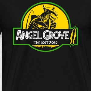 Angel Grove The Lost Zord Funny Parodies - Men's Premium T-Shirt