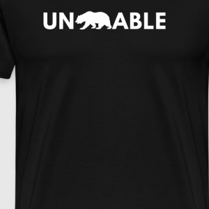 Unbearable - Men's Premium T-Shirt