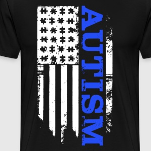 Autism Flag Shirt - Men's Premium T-Shirt