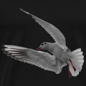 seagull dove moewe seemoewe bird - Men's Premium T-Shirt