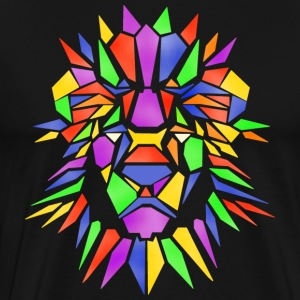 The Lion of Peace - Men's Premium T-Shirt