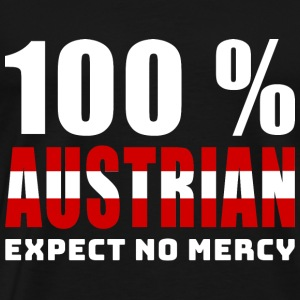 100 % AUSTRIAN - EXPECT NO MERCY - Men's Premium T-Shirt