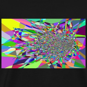 Modern Art Polygon - Men's Premium T-Shirt