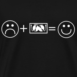 love smile like TECHNO DJ ELECTRO - Men's Premium T-Shirt