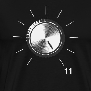 Volume Knob - These go to 11 - Men's Premium T-Shirt