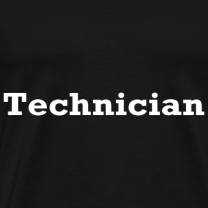TECHNICIAN T SHIRT TECHNICS PARODY DJ VINYL 1200 H - Men's Premium T-Shirt