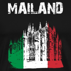City-Design Milan Cathedral GER - Men's Premium T-Shirt