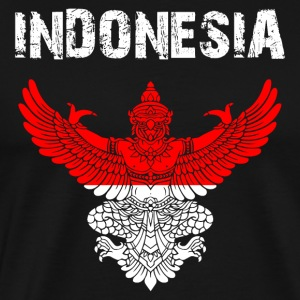 Nation-Shirt Indonesia Garuda EN - Men's Premium T-Shirt