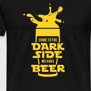 Dark Side Beer New Rogue One - Men's Premium T-Shirt