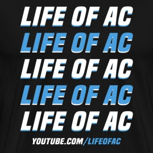 Double Vision | Life Of AC - Men's Premium T-Shirt