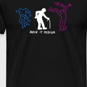 Avin It Medium Aging Clubber - Men's Premium T-Shirt