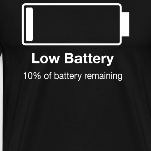 Low Battery - Men's Premium T-Shirt