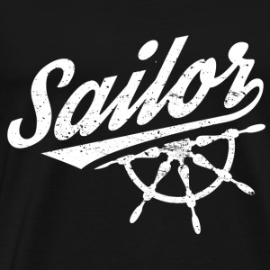Funny Sail Sailing Sailor Shirt Sailor - Men's Premium T-Shirt