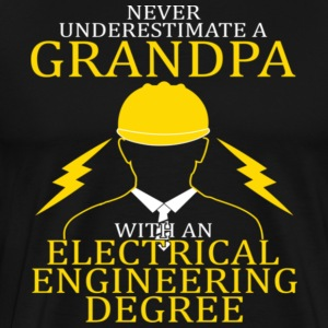 Electrical Engineering Grandpa - Men's Premium T-Shirt