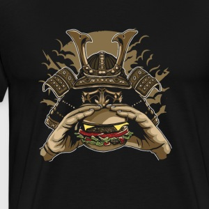 Samurai Burger. Fight for your right to burger! - Men's Premium T-Shirt