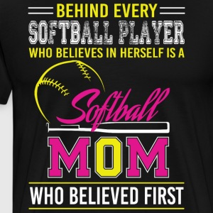 Softball Mom T Shirt - Men's Premium T-Shirt