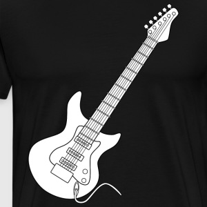 Cool Electric Guitar Shirt - Men's Premium T-Shirt