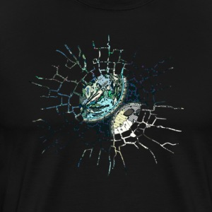 The Glass Solar Eclipse Tshirt High Quality - Men's Premium T-Shirt