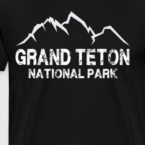 Grand Teton National Park T Shirt - Men's Premium T-Shirt