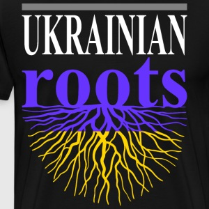 Ukrainian Roots Tshirt - Men's Premium T-Shirt