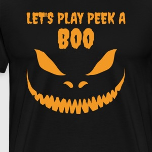 Halloween: Peek A Boo - Men's Premium T-Shirt