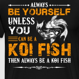 Koi Fish T Shirt - Men's Premium T-Shirt