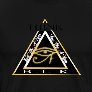 Think B.L.K. (The Vision) - Men's Premium T-Shirt