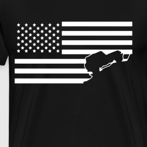 JEEP AMERICA - Men's Premium T-Shirt
