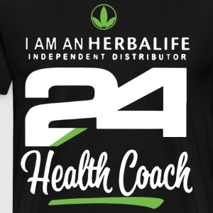 i am an herbalife independent distributor 24 healt - Men's Premium T-Shirt