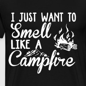 i just want to smell like a campfire t-shirts - Men's Premium T-Shirt