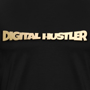 Digital Hustler - #PandaDesiiigns - Men's Premium T-Shirt