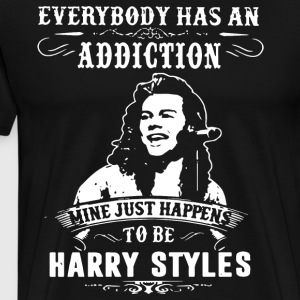 everybody has an addiction mine happens to be harr - Men's Premium T-Shirt