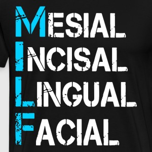 Mesial Incisal Lingual Facial t-shirts - Men's Premium T-Shirt