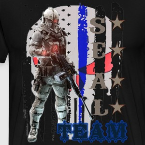 PROUD OF SEAL TEAM TSHIRT - Men's Premium T-Shirt