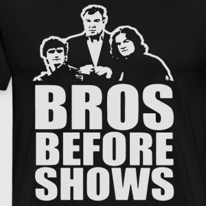 Bros Before Shows t-shirts - Men's Premium T-Shirt