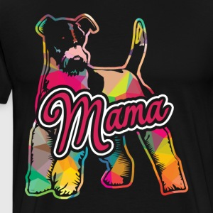 Wire Fox Terrier Mama Shirt - Men's Premium T-Shirt