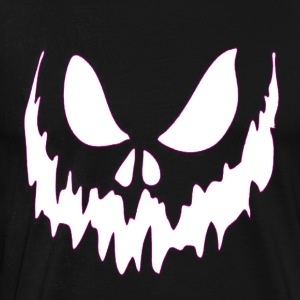 Scary Face Halloween Tshirt - Men's Premium T-Shirt