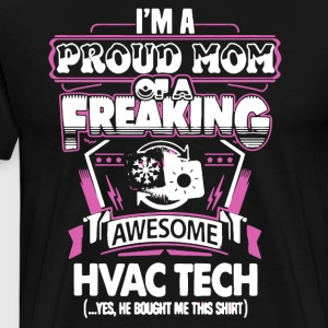 Awesome Hvac Tech Shirt - Men's Premium T-Shirt