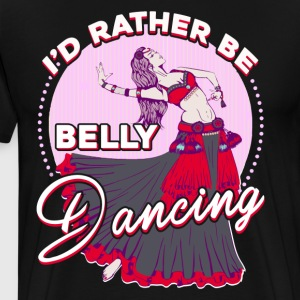 Belly Dancing Shirt - Men's Premium T-Shirt