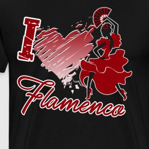 Love Flamenco Dance Shirt - Men's Premium T-Shirt
