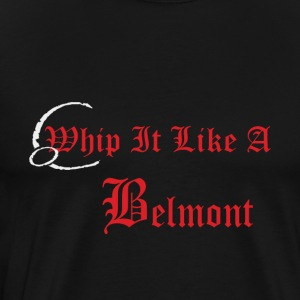 Castlevania Whip It Like A Belmont - Men's Premium T-Shirt