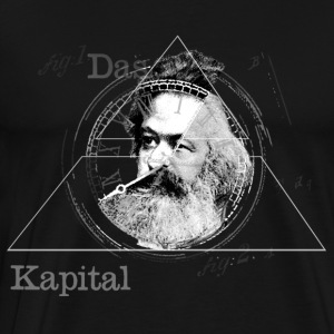 The Time of Marx Dark - Men's Premium T-Shirt