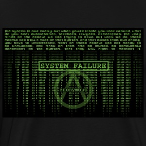 Matrix System Failure ANONYMOUS - Men's Premium T-Shirt